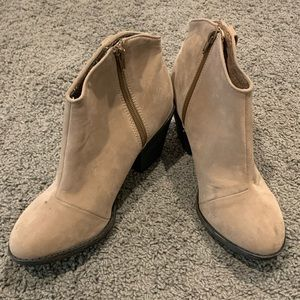 Blowfish Suede Booties NWOB
